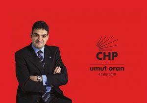 Umut Oran CHP 100. yıl kapağı