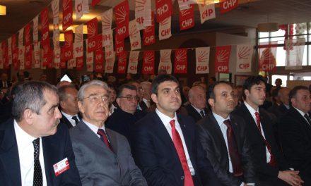 Umut ORAN CHP Sakaryla İl Kongresine katıldı