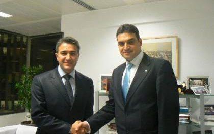 CHP'li Umut Oran'dan Bakan Kır'a ziyaret…