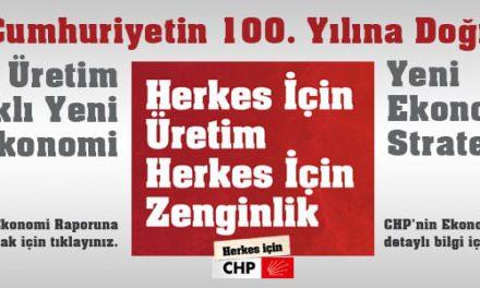 CHP Ekonomi Raporu