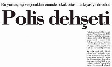 Polis dehşeti-Cumhuriyet