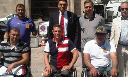 Gazilerden Umut Oran'a teşekkür ziyareti
