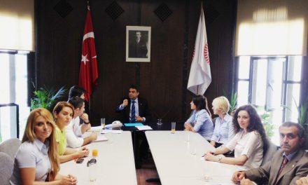 """THY'den atılanların kurduğu """"29 Mayıs Birliği"""" Umut Oran'ı ziyaret etti"""