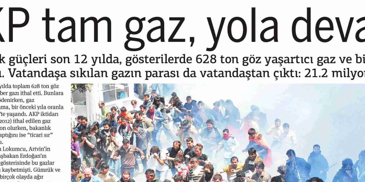 AKP tam gaz, yola devam -Taraf