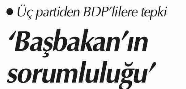 Partilerden tepki- Cumhuriyet