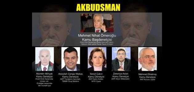 """Ombudsman değil """"Akbudsman"""""""