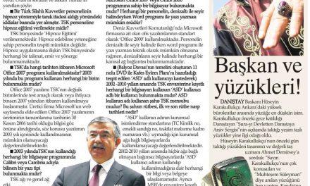 Savunma Bakanı Yılmaz  Balyoz delilini çürüttü!.