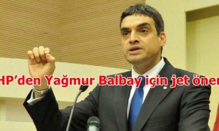 CHP'den Yağmur Balbay için jet önerge