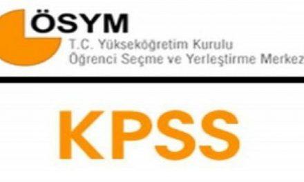 ÖSYM, KPSS dosyasını kapattı