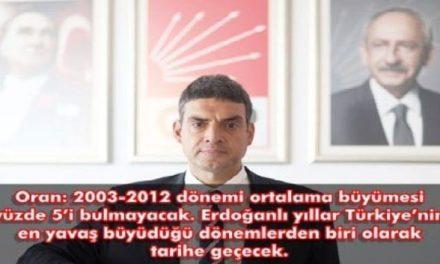 Umut Oran:Erdoğan'ın 10 yıllık ekonomi karnesi kırıklarla dolu. bu notla istikrar sürmez Türkiye büyümez