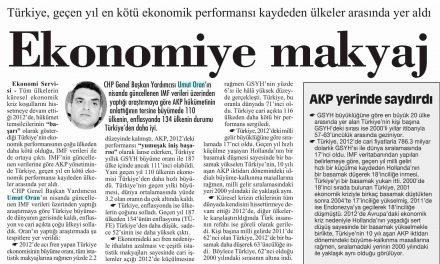 Ekonomiye Makyaj-Cumhuriyet