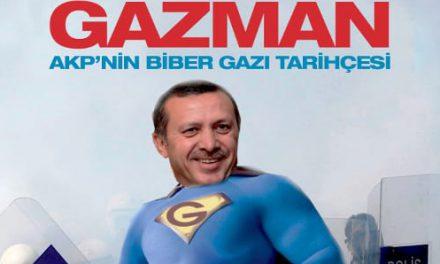 """Başbakan'ın adı artık """"GAZMAN"""""""