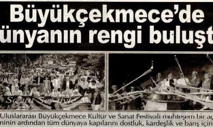 Büyükçekmece'de dünyanın rengi buluştu-İstanbul İstiklal Gazetesi