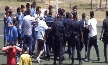 İçişleri Bakanı 13 yaşındaki futbolcunun coplanmasını da görmemiş