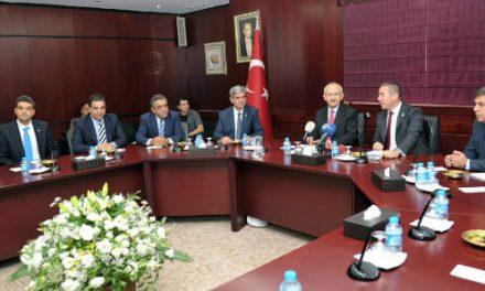 """Genel Başkan Kılıçdaroğlu Gaziantep'te, """"Bizim terörümüz bize yetmezmiş gibi şimdi birde El Kaide çıktı karşımıza"""" dedi."""