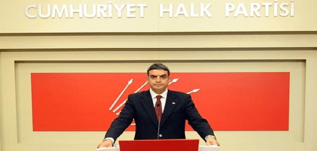 """CHP'den Davutoğlu'na """"kaos"""" tepkisi"""