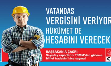 CHP reklamlarına AKP sansürü !