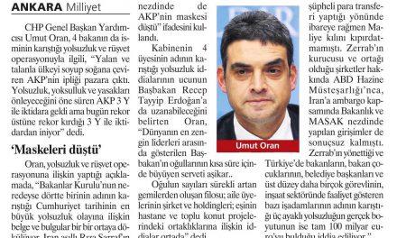 AKP 3Y ile geldi 3Y ile gidiyor-Milliyet