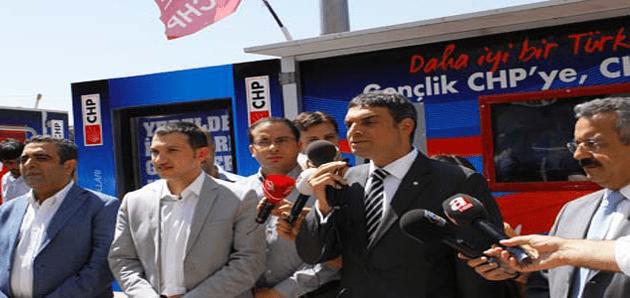 Umut Oran:Türkiye'nin umudu gençler, gençlerin umudu CHP