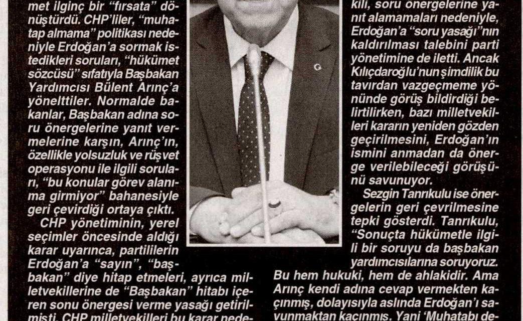 AKP'den 'taktiksel' engelleme-Cumhuriyet
