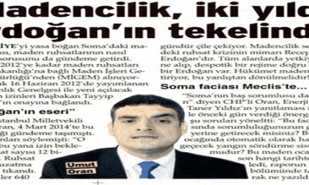 Madencilik, iki yıldır  Erdoğan'ın tekelinde – Sözcü
