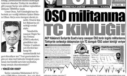 Yurt'un manşeti Meclis'te -Yurt Gazetesi