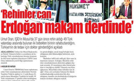 Rehineler Meclis'te – Yurt Gazetesi