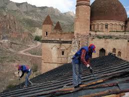 İshak Paşa Sarayı'nın ultramodern çatı restorasyonu TBMM'de