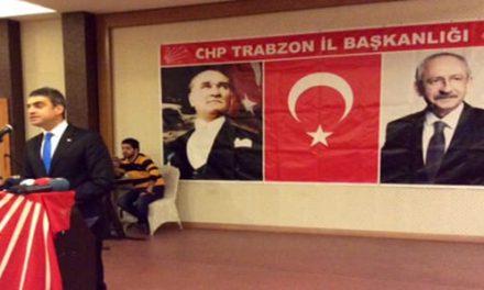 Umut Oran, 25 Aralık'ın yıldönümünde Trabzon'da