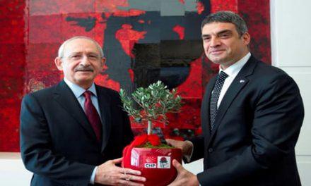 Kılıçdaroğlu-Umut Oran Enternasyonal Devir Teslimi