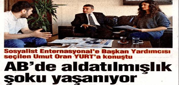 AB'de aldatılmışlık şoku yaşanıyor – Yurt Gazetesi
