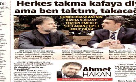 Tam bir kepazelik – Ahmet Hakan