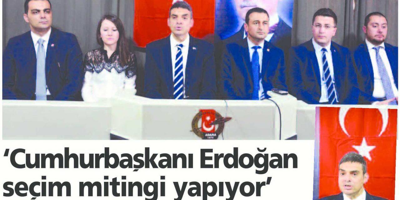Cumhurbaşkanı Erdoğan Seçim Mitingi Yapıyor – Adana Toros