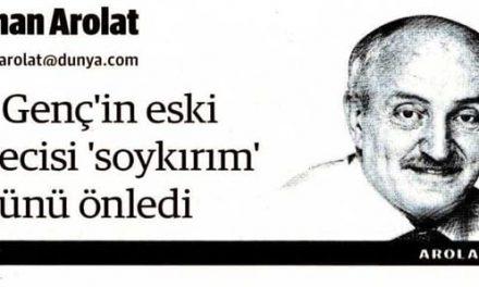 """GS Genç'in eski kalecisi """"soykırım """" golünü önledi -Osman Arolat"""