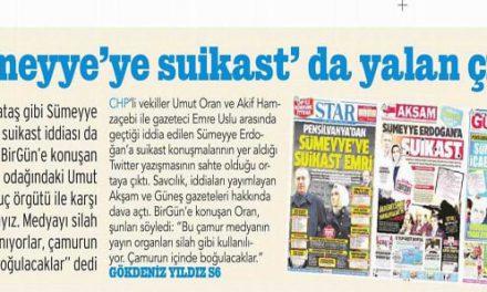 """""""Sümeyye'ye suikast"""" da yalan çıktı – Birgün"""