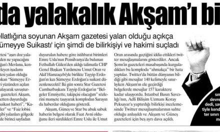 Aşırı dozda yalakalık Akşam'ı bitirdi – Yurt Gazetesi