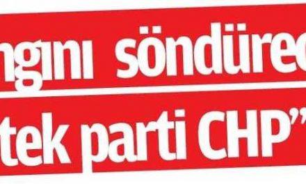 Türkiye'De Yangını Söndürecek İtfaiye CHP'dir – Adana Çukurova Metropol