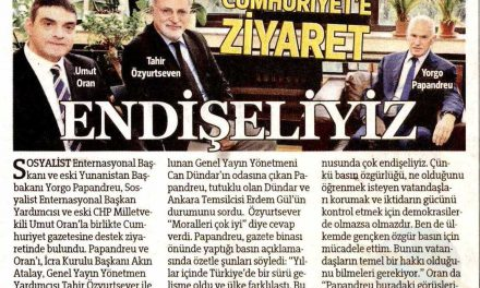 Cumhuriyet'e ziyaret – Hürriyet