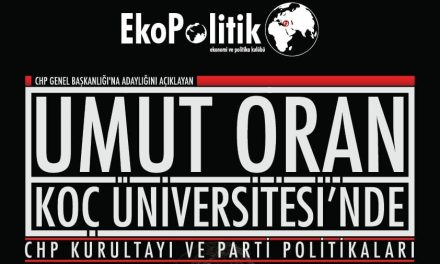 Yarın Koç Üniversitesi EkoPolitik Kulübü'nün konuğuyum
