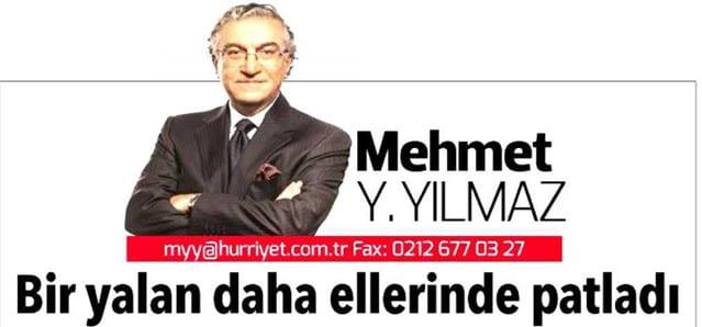 Bir yalan daha ellerinde patladı – Mehmet Yılmaz