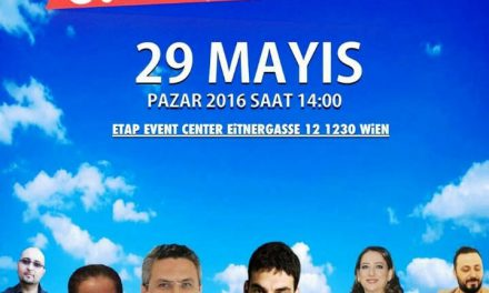 Umut Oran CHP Avusturya Birliği için yarın Viyana'da