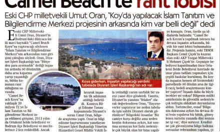 Camel Beach'te rant lobisi -Cumhuriyet