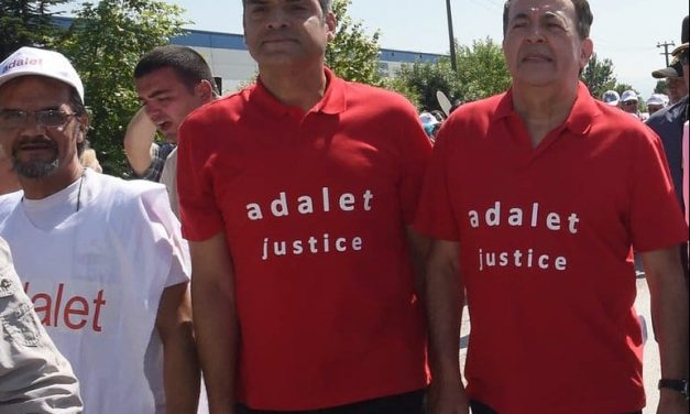Adalet Yürüyüşüne Enternasyonal'den Büyük Destek