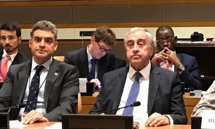 Umut Oran, New York'ta BM'de Konuştu